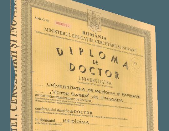 Diplome şi certificate